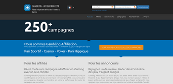 Inscription Gambling affiliation Belgique